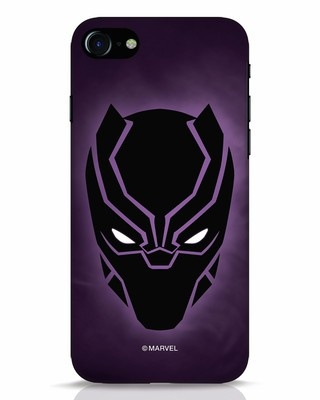 Shop Panther Black iPhone 8 Mobile Cover-Front
