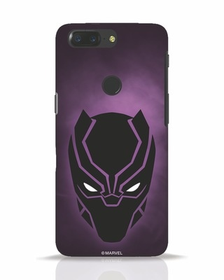 Shop Panther Black OnePlus 5T Mobile Cover-Front