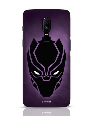 Shop Panther Black OnePlus 6 Mobile Cover-Front