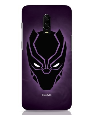 Shop Panther Black OnePlus 6T Mobile Cover-Front