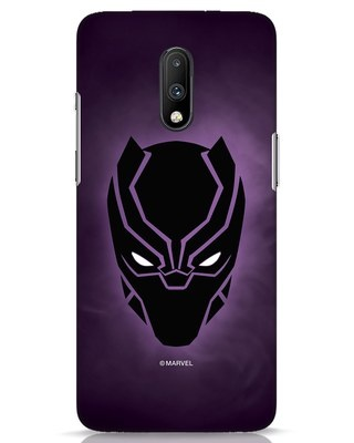 Shop Panther Black OnePlus 7 Mobile Cover-Front