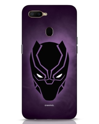 Shop Panther Black Oppo A5s Mobile Cover-Front