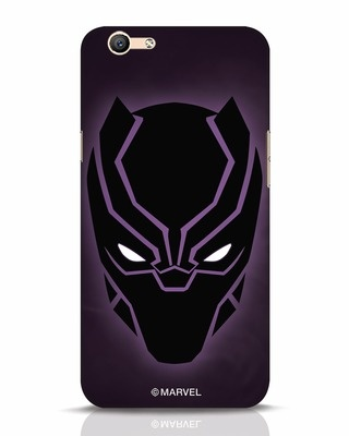 Shop Panther Black Oppo F1s Mobile Cover-Front