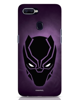 Shop Panther Black Oppo F9 Pro Mobile Cover-Front