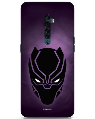 Shop Panther Black Oppo Reno 2 Mobile Cover-Front