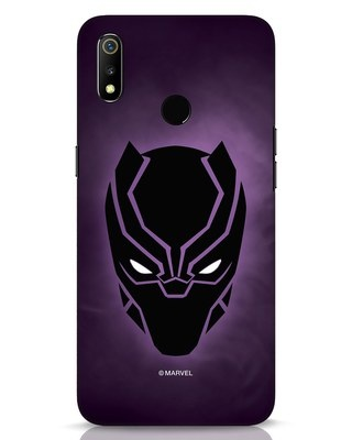 Shop Panther Black Realme 3 Mobile Cover-Front