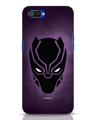 Shop Panther Black Realme C2 Mobile Cover-Front