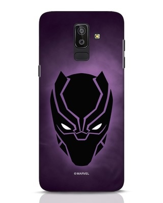 Shop Panther Black Samsung Galaxy J8 Mobile Cover-Front