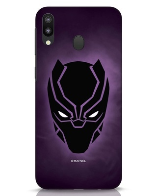Shop Panther Black Samsung Galaxy M20 Mobile Cover-Front