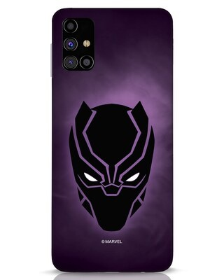 Shop Panther Black Samsung Galaxy M31s Mobile Cover-Front
