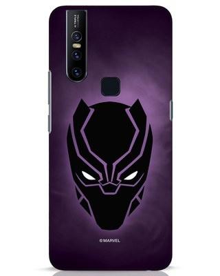 Shop Panther Black Vivo V15 Mobile Cover-Front
