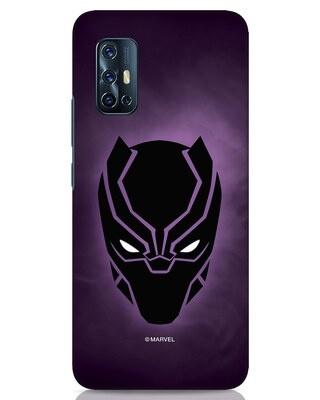 Shop Panther Black Vivo V17 Mobile Cover-Front
