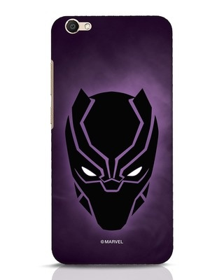 Shop Panther Black Vivo V5 Mobile Cover-Front