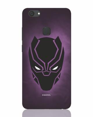 Shop Panther Black Vivo V7 Plus Mobile Cover-Front