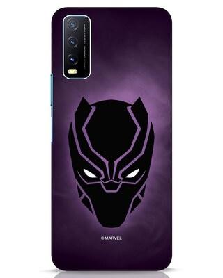 Shop Panther Black Vivo Y20 Mobile Cover-Front