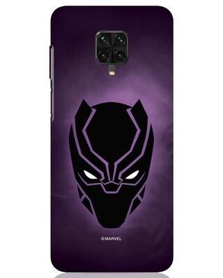 Shop Panther Black Xiaomi Poco M2 pro Mobile Cover-Front