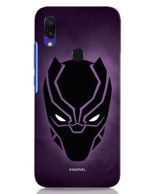 Shop Panther Black Xiaomi Redmi 7 Mobile Cover-Front