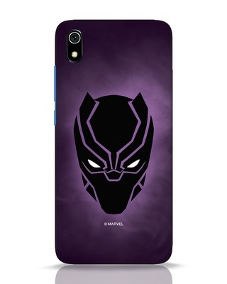 Shop Panther Black Xiaomi Redmi 7A Mobile Cover-Front