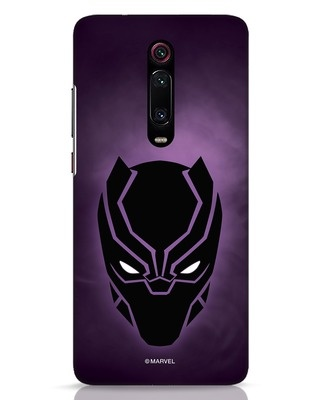 Shop Panther Black Xiaomi Redmi K20 Pro Mobile Cover-Front