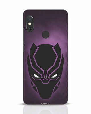 Shop Panther Black Xiaomi Redmi Note 5 Pro Mobile Cover-Front