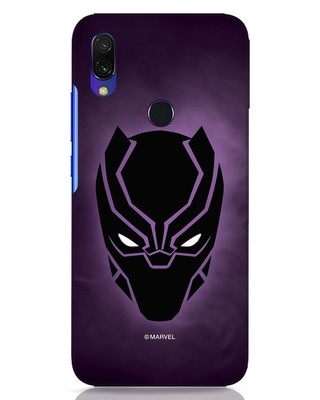 Shop Panther Black Xiaomi Redmi Y3 Mobile Cover-Front