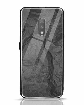 Shop Paper Crush Realme X Glass Mobile Cover-Front