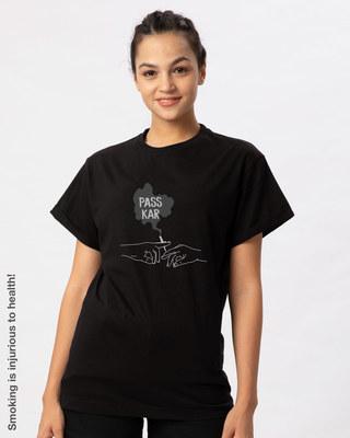 Shop Pass Kar Boyfriend T-Shirt-Front