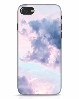 Shop Pastel Cloud iPhone 7 Mobile Cover-Front