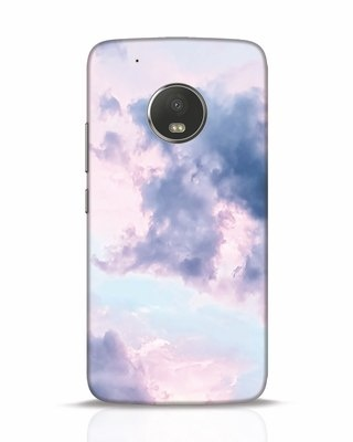 Shop Pastel Cloud Moto G5 Plus Mobile Cover-Front