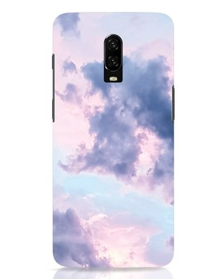 Shop Pastel Cloud OnePlus 6T Mobile Cover-Front