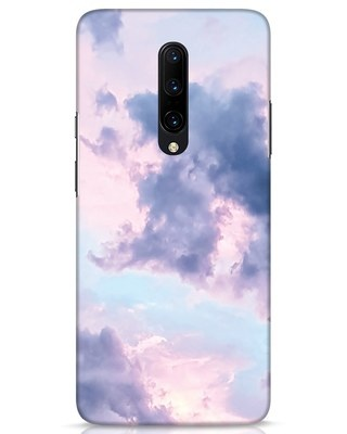 Shop Pastel Cloud OnePlus 7 Pro Mobile Cover-Front