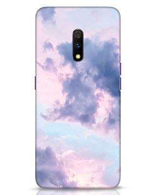 Shop Pastel Cloud Realme X Mobile Cover-Front
