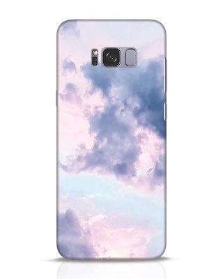 Shop Pastel Cloud Samsung Galaxy S8 Plus Mobile Cover-Front