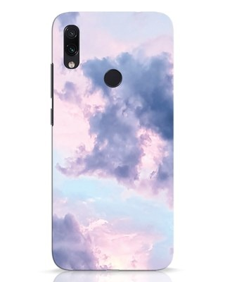 Shop Pastel Cloud Xiaomi Redmi Note 7 Pro Mobile Cover-Front