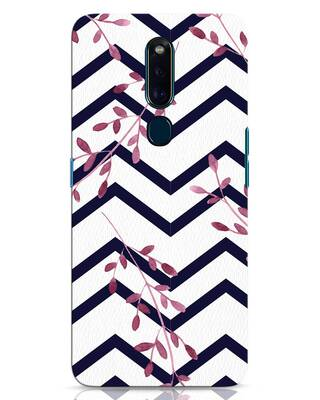 Shop Pastel Floral Oppo F11 Pro Mobile Cover-Front