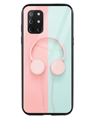 Shop Pastel Headphones OnePlus 8T Mobile Cover-Front