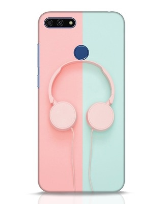Shop Pastel Music Huawei Honor 7A Mobile Cover-Front