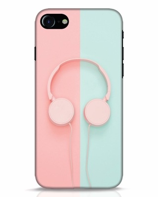 Shop Pastel Music iPhone 8 Mobile Cover-Front