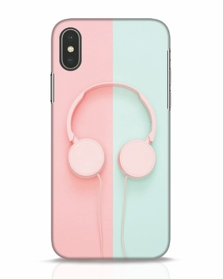 Shop Pastel Music iPhone X Mobile Cover-Front