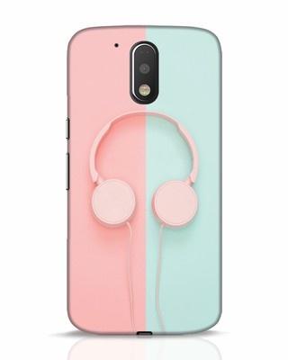 Shop Pastel Music Moto G4 Plus Mobile Cover-Front