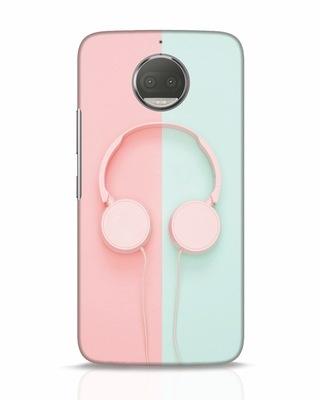 Shop Pastel Music Moto G5s Plus Mobile Cover-Front