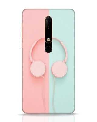 Shop Pastel Music Nokia 6.1 Mobile Cover-Front
