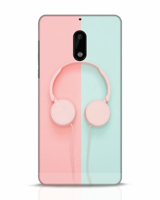 Shop Pastel Music Nokia 6 Mobile Cover-Front