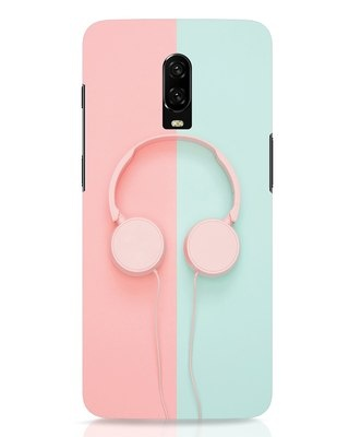 Shop Pastel Music OnePlus 6T Mobile Cover-Front
