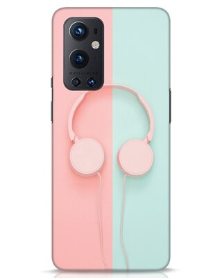 Shop Pastel Music OnePlus 9 Pro Mobile Cover-Front