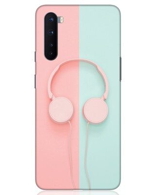 Shop Pastel Music OnePlus Nord Mobile Cover-Front