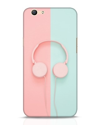 Shop Pastel Music Oppo F1s Mobile Cover-Front