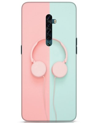 Shop Pastel Music Oppo Reno 2 Mobile Cover-Front