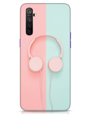 Shop Pastel Music Realme 6 Mobile Cover-Front
