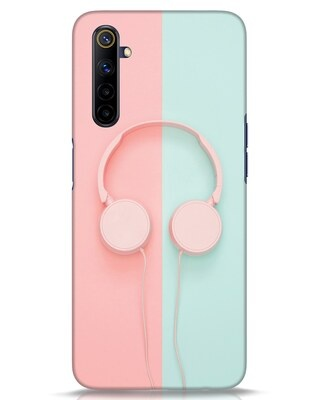Shop Pastel Music Realme 6i Mobile Cover-Front